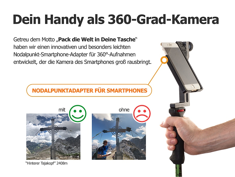 Dein Handy als 360-Grad-Kamera