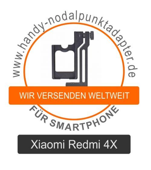Nodalpunktadapter für Xiaomi Redmi 4X