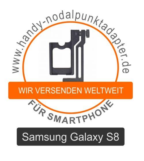 Panoramakopf für Samsung Galaxy S8