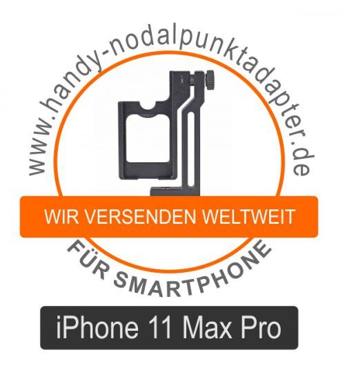 Panoramakopf für iPhone 11 Max Pro